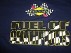 Vintage Sunoco Blue  Fuel of Champions T Shirt Adult XL Excellent Free US Ship