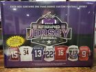 2016 Leaf Autographed Jersey Football Factory Sealed Hobby Box FULL SIZE JERSEY