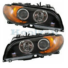 03-06 325CI & 330CI Front Headlight Headlamp Halogen Head Light Lamp Set Pair