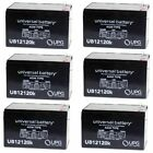 6PK NEW 12V 12AH F2 Battery Replaces Zipr ZIPR3 3 Wheel Leisure Travel Scooter