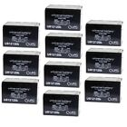 10 PACK NEW 12V 12AH F2 Replacement Battery for Zappy Classic Electric Scooter