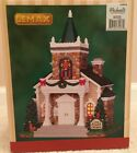 LEMAX CHRISTMAS VILLAGE CEDAR CREEK CHURCH IN ORIGINAL BOX MINT