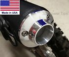 SUZUKI DR-Z 70 DRZ 70 MUFFLER EXHAUST 2D POWER TIP w/ SPARK ARRESTOR SCREEN