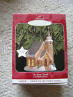 1998 Hallmark Ornament THE STONE CHURCH 1ST IN THE CANDLELIGHT SERVICES SERIES