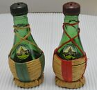 Vintage Wine Bottle US Capital Washington DC Salt Pepper Shaker Set Italy