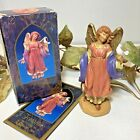 Fontanini Heirloom Nativity SIGNED CELESTE Angel 1997 Story Card Depose Italy 5