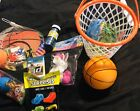 Childrens Basketball Theme Easter Basket Gift Set Fast Shipping complete