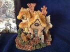 Boyd's Bears Bearly Built Villages Baileys Cozy Cottage