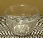 Vtg Fire King Clear Glass #14 Mixing Bowl w/ Spout for Sunbeam Stand Mixer