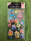 EK Success Sticko Dimensional Stickers Birthday Party 17 Pieces Scrapbooking