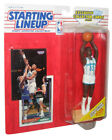 NBA Basketball Starting Lineup Alonzo Mourning Hornets Figure (1993) w/ Cards
