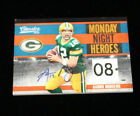 AARON RODGERS MVP 2010 Classics AUTO Patch Packers 1 1 MONDAY NIGHT HEROES
