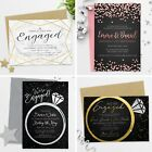 Personalised Engagement Party Invitations Invites with Envelopes