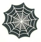 Spider Webs Nets Embroidered Sew Iron On Patch Badge Applique Craft Transfer 332