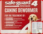 Safe Guard Dog Dewormer Large 8 in 1 Puppy Tapeworm Worms Medicine Safeguard New