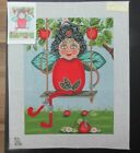 ts Apple Spice Fairy 6135 Hand Painted Needlepoint SQ295 Ret172
