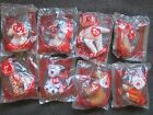 8 McDonald's 30th Anniversary Happy Meal Ty Beanie Babies 30 Years of Happiness