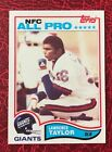 1982 Topps Football LAWRENCE TAYLOR ROOKIE RC ALL-PRO #434 NM-MT
