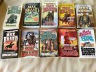 MAX BRAND Western Paperbacks Lot of 10 Like New condition
