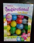 Frankford Candy Inspirational Egg Hunt Eggs with Jelly BeansBox of 20 EXp10 19