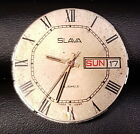 SLAVA 2428 26 JEWELS MEN'S WRISTWATCH MOVEMENT FOR PARTS OR SERVICE USSR