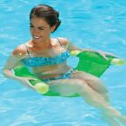 SwimWays Set 4 Floating Pool Noodle Sling Mesh Chairs Water Relaxation