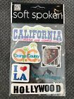 Me  My Big Ideas Soft Spoken Embellishment Stickers California Scrapbooking
