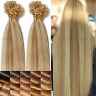 Mix Color CLEARANCE Pre Bonded Keratin Nail U Tip Human Hair Extensions 1G AM259