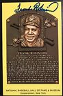 Frank Robinson Baseball Cards and Autographed Memorabilia Guide 36