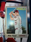 2019 Topps Heritage SP Mike Trout #485