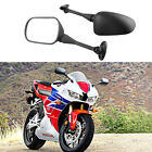 Black Motorcycle Rear View Mirrors For Honda CBR600RR 2003 2004 2005 2006 2007