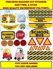 Replacement Decals Stickers fits Little Tikes Cozy Coupe Car SCHOOL BUS THEME