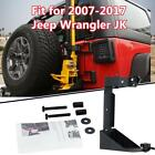 For 2007 2017 Jeep Wrangler JK Textured Off Road Jack Mount Spacer Mounting