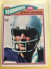 Steve Largent Cards, Rookie Card, Autographed Memorabilia Guide 6
