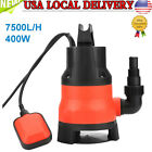 Heave Duty 400W Electric Submersible Pump for Clean Dirty Flood Water 110V USA