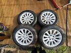 17 Chrysler Genuine Wheels With Michelin Tyres Delivery Miles Immaculate
