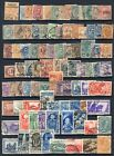 Italy stamp collection of early used stamps crammed onto 2 pagesuseful values