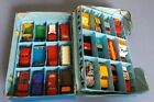 Vintage Matchbox 24 Car Carry Case With Cars Diecast Superfast Lesney Hot Wheels