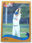 2002 Topps Traded and Rookies Baseball Cards 9