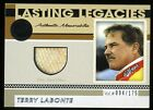 2011 Press Pass Legends TERRY LaBONTE Race used Gloves 094 175