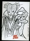 Top 10 2012 Topps Mars Attacks Sketch Card Sales 22