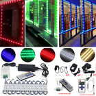 US LED Window Store Front Lights Module 10 500ft Strips with power supply+Remote