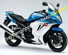 For Suzuki GSX650F GSXF 650 Blue white 08 09 10 11 12 13 Motorbike Fairing Kit