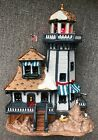 Lemax Lighthouse Lighted Porcelain Plymouth Corners Village Collection In Box 03