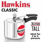 HAWKIN Classic CL3T 3-Liter New Improved Aluminum Pressure Cooker, Small,