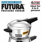 Hawkins-Futura F-41 Induction Compatible Pressure Cooker, 4-Liter, Stainless