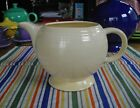 Vintage Fiesta Original IVORY Medium Teapot Tea Pot Bottom ~