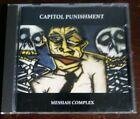 Messiah Complex by Capitol Punishment (CD, 1995, We Bite America) capital punk
