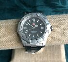TAG HEUER 2000 Series WK1110-0 200M Mens Watch - Runs Great - Keeps Perfect Time