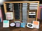 INK PAD STORAGE HOLDER Stampin Up Tim Holtz Distress Oxide Memento Pads Not Inc